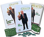 Give em the pickle dvd 10 pickle lapel pins 10 pocket cards 1 58